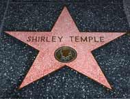 Shirley Temple Star in Hollywood CA