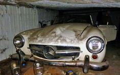 Greek Barn Find: 1961 Mercedes 190SL - http://barnfinds.com/greek-barn-find-1961-mercedes-190sl/