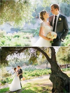 Still Waters Vineyards wedding #vineyardwedding #brideandgroom #weddingchicks http://www.weddingchicks.com/2014/02/28/soft-summer-vineyard-wedding/