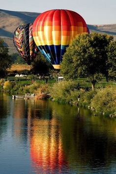 Hot Air Balloon Rally - Prosser, Washington