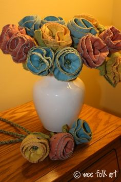TUTORIAL - Handmade Flowers & Stem