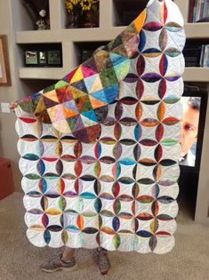 Quilt as you go scrappy
