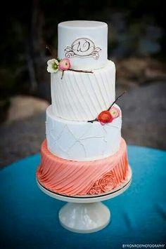 cake idea, cake inspir, cake decor, wedding cakes