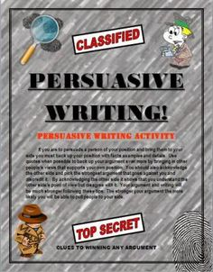 Persuasive Writing: Writing Skills for Students! Template for Many Topics! from TEACHLEARN on TeachersNotebook.com -  (6 pages)  - Teach students how to write a good persuasive essay. With this format students will learn to master it. The six page packet contains detailed paragraph by paragraph instructions on how to write a 5 paragraph essay and win your argument.