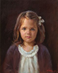 "'Lucia"" by Richard Christian Nelson, NC portrait artist"