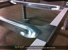 #MaterialHandling #TuesdayTip  When working with Structural Beams or Box Beams, a universal front to back safety bar is your solution when a step beam is not present. The unique design carries the same capacity as most standard step flanged safety bars. http://www.wprpwholesalepalletrack.com