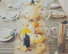 Wood & Grain: Thanksgiving Table