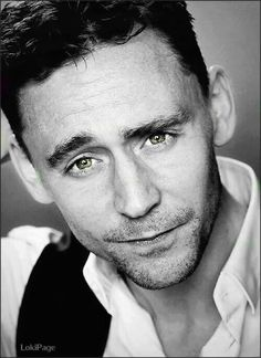 Don't look at me like that... unless you intend to do something about it. Do you? Intend to do something about it, Tom Hiddleston?