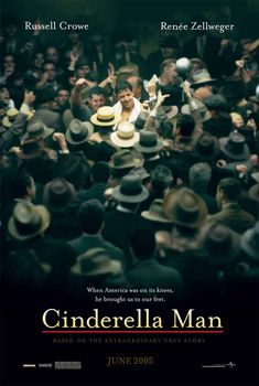 Cinderella Man an inspiring movie that is another one of my favorite sports movies. Set in the Great Depression it shows that it wasn't just boxing he helped change.