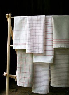DIY Vintage-Look Tea Towels Tutorial by The Purl Bee