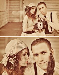 Engagement photo ideas  Intentionally Living...: Vintage 1950's Christmas Photos