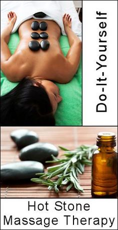 DIY hot stone massage from tipnut.com