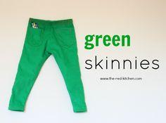Green Skinnies