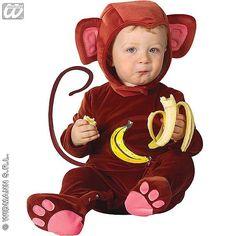 Disfraz Mono Bebé #infantil #disfraces #carnaval