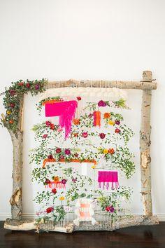 Weaved + Floral Back