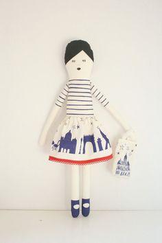 I love Paris doll / miko design easy