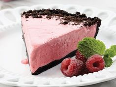 Weight Watchers Frozen Chocolate Raspberry Pie