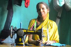 In India, Kiva borrowers are so proud they display (and often point to) a sign in their shops saying they are supported by Kiva lenders. They say how grateful they are for everyone who helped them build their businesses, feed their families, and look ahead to a brighter future.
