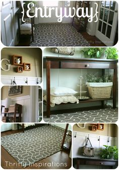 Thrifty Inspirations: Entryway {Home Tour}