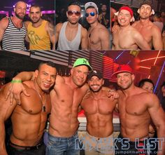 The 2013 White Party Noche Blanca Urge Party at Mansion Nightclub on Miami Beach that featured DJ Abel spinning to a packed dancefloor by also dancers in the air!