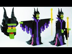 How To Build LEGO Disney Maleficent - YouTube