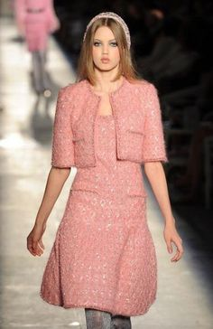 Chanel haute couture fashion show at  on July 3, 2012 at Grand Palais.  Paris Haute Couture Fashion Week  Fall / Winter 2012/13.