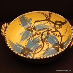 piatto  in ceramica di Albisola - Liguria #essenzadiriviera.com