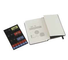 Audio Cassette Notebook - Ruled - Pocket - by Moleskine