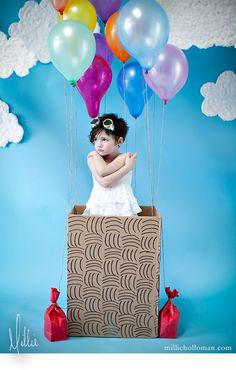 Up, up & away! {Millie Holloman Photography}