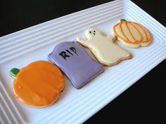 Baked Perfection: Halloween Sugar Cookies