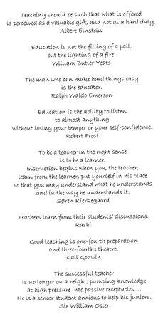 Teaching Quotes 2