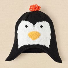 Penguin hat! Perfect for winter!
