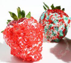 pop rocks desserts, chocolates, poprock, rock strawberri, chocolate covered strawberries, dessert recipes, chocolate strawberries, pop rocks recipe, pop rocks cupcakes