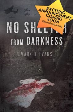 Mark Evans makes an announcement regarding NO SHELTER FROM DARKNESS.