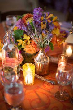 #Centerpiece   Very #Romantic Setting   Michael & Anna Costa Photographers Ltd.   See the wedding on SMP -- http://www.StyleMePretty.com/california-weddings/santa-barbara/2013/03/26/santa-barbara-wedding-at-dos-pueblos-ranch-from-michael-anna-costa/
