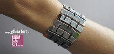 DIY Metal Bar Bracelet Tutorial