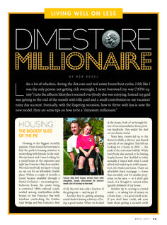 Dimestore Millionaire: Soccer dad Bob Vogel lives well on less.