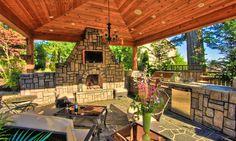 portland, outdoor living, outdoor kitchens, landscaping, patio, outdoor live, outdoor fireplaces, garden, design
