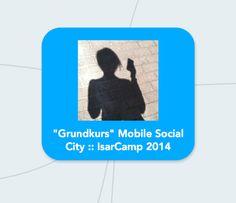 """Verlinkte Übersicht zu Apps aus für die """"Mobile Social City"""" (Mindmeister Mindmap)"""