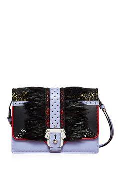 Tatiana Textured Shoulder Bag by Paula Cademartori
