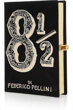 OLYMPIA LE TAN Minaudière of 8 1/2 by Federico Fellini