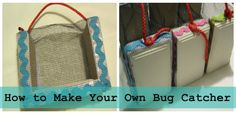 how to make your own bug catcher @Lowe's #LowesCreator