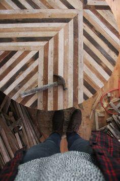 reused wood, so lovely