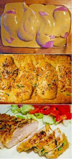 chicken breasts, mustard chicken, maple syrup, red wines