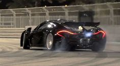 How to Drift in a Supercar! Watch this McLaren P1 tear it up... #P1 #spon