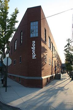 The Noguchi Museum - The two story museum and adjacent sculpture garden, located in Long Island City section of Queens, one block from the Socrates Sculpture Park.