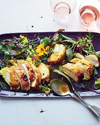 Curried Maple-Mustard Chicken Breasts Recipe on Food & Wine