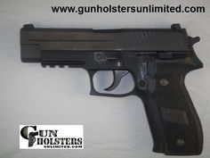 1 SIG-Sauer P226 Semi Automatic Pistol in 9mm - Gun Holsters Unlimited