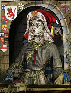 JACQUETTA OF LUXEMBORG - . Duchess of Bedford; Countess Rivers (Woodville). Mother of  English Queen ELIZABETH WOODVILLE . consort of King Edward IV.  Jacquetta came from an illustrious European lineage.and so caused a scandal when she secretly married Sir Richard Woodville - a common knight - after the death of her 1st husband, the Duke of Bedford, brother of King Henry V.