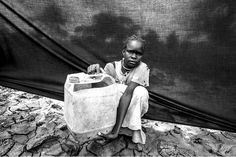 UNHCR Series:  The One Most Important Thing --- for 10 year old Maria it is the jerrycan (water container)